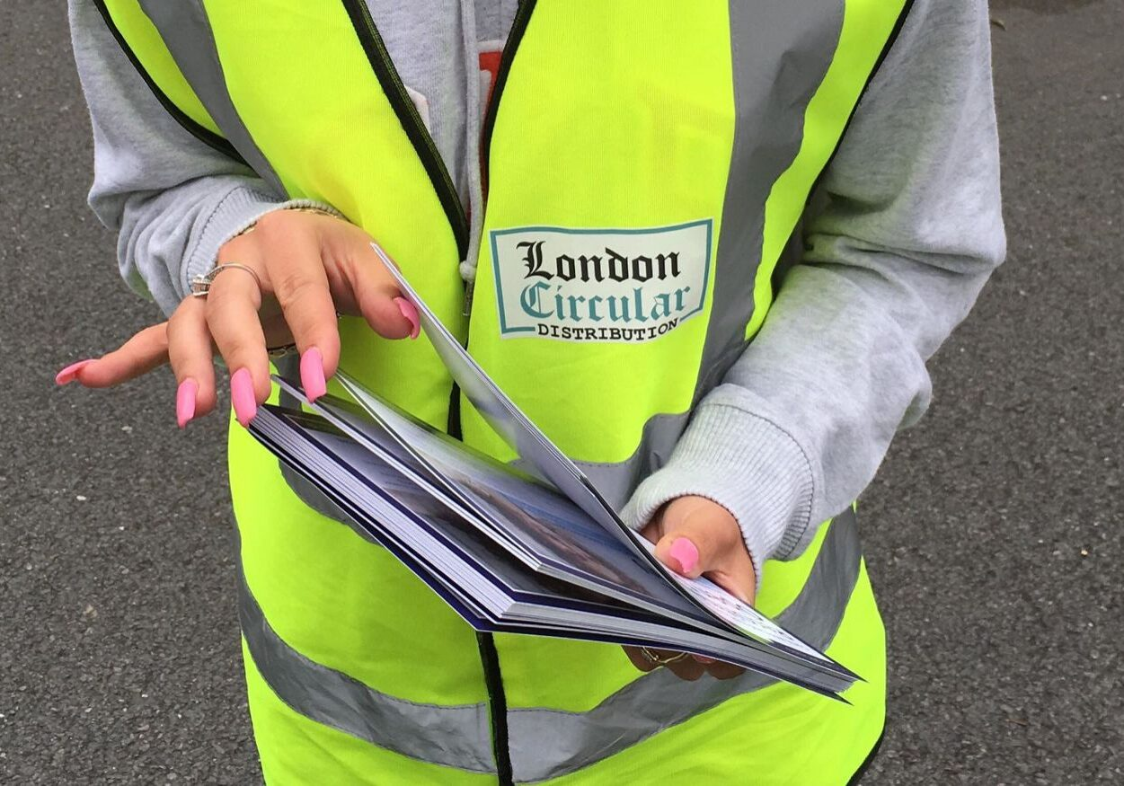 Leaflet distribution in London - londoncircular